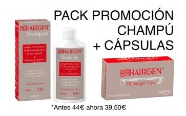 BODERM HAIRGEN PACK CAPSULAS + CHAMPU