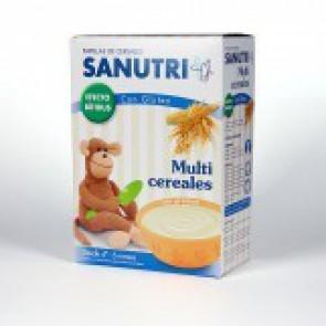 SANUTRI CEREALES MULTICEREALES BIF 600GR