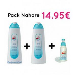 NAHORE COLONIA PACK 500ML + 500ML + 75ML