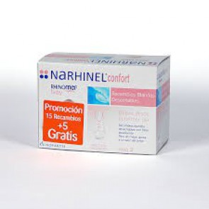 NARHINEL CONFORT RECAMBIOS 15+5 GRATIS