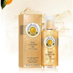 ROGER GALLET D`ORANGE AGUA DESTELLOS DORADOS 100ML