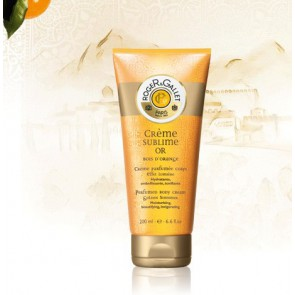 ROGER GALLET BOIS D`ORANGE CREMA DESTELLOS DORADOS 200ML