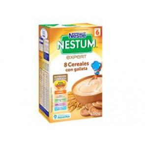 NESTLE NESTUM EXPERT 8 CEREALES GALLETA