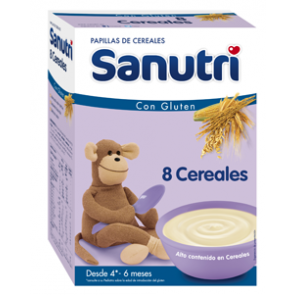 SANUTRI CEREALES 8 CEREALES