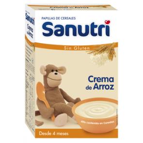 SANUTRI CEREALES CREMA DE ARROZ