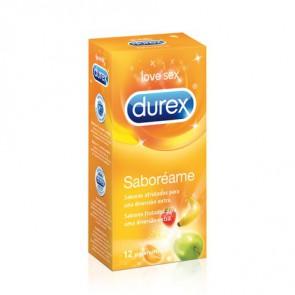 DUREX SABOREAME 12 PRESERVATIVOS
