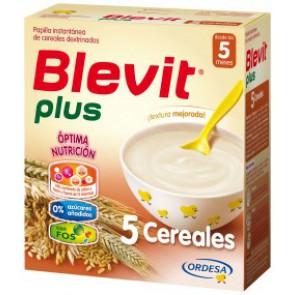 BLEVIT PLUS 5 CEREALES 600 GR.