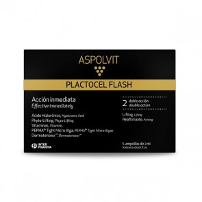 ASPOLVIT PLACTOCEL FLASH 5 AMPOLLAS