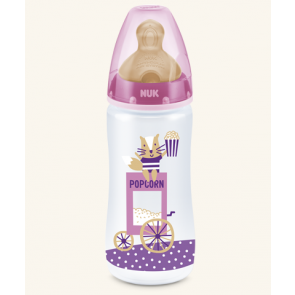 NUK BIBERON FANTASY PARK LATEX 6-18M 300ML