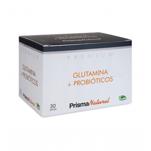 GLUTAMINA + PROBIOTICOS 30 STICK PRISMA NATURAL