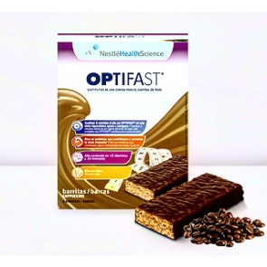 OPTIFAST BARRITAS CAPUCCINO 6 UNIDADES
