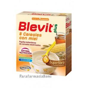 BLEVIT PLUS 8 CEREALES CON MIEL SUPERFIBRA 600GR