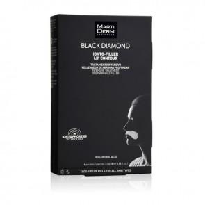 MARTIDERM BLACK DIAMOND OINTO-FILLER LABIOS 4 PARCHES