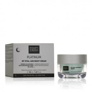 MARTIDERM PLATINUM GF VITAL-AGE NIGHT CREAM 50ML